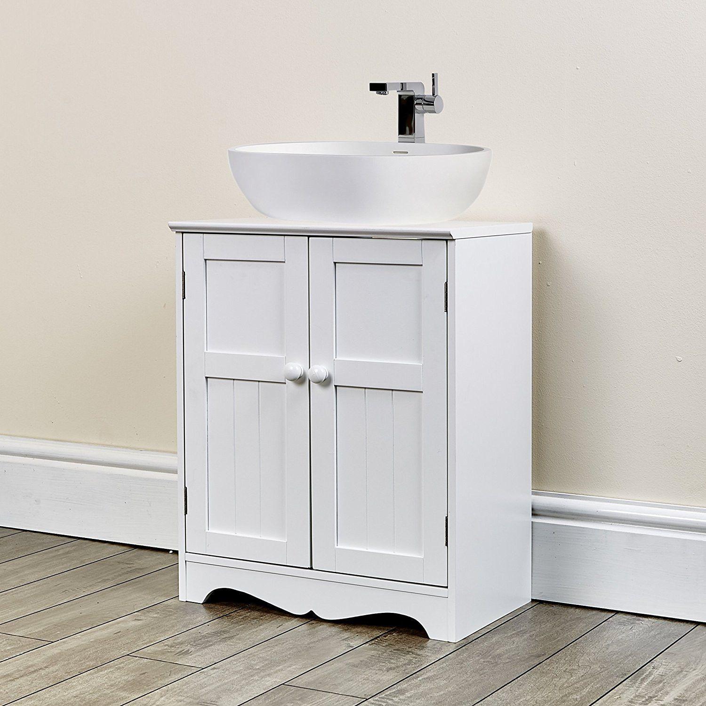 50+ White Under Sink Bathroom Storage Cabinet - Kitchen Cabinets ...