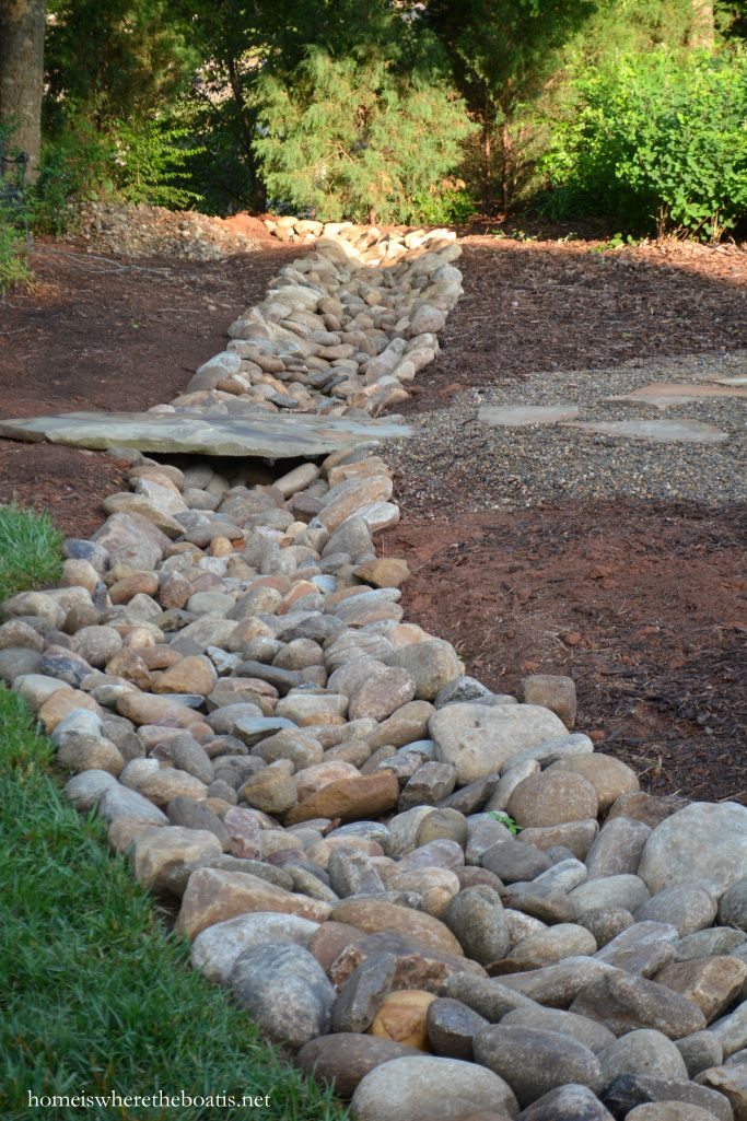 Potting Shed Room To Grow And Gravel Paths Dry Riverbed Landscaping River Rock Landscaping Landscape Design