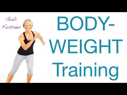 45 min. Wohnzimmer-Training ohne Hilfsmittel #fitnessvideos