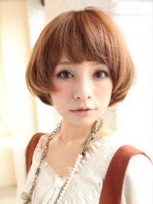髪型 ヘアスタイル ボブスタイル Hair Style ボブヘア 短い髪