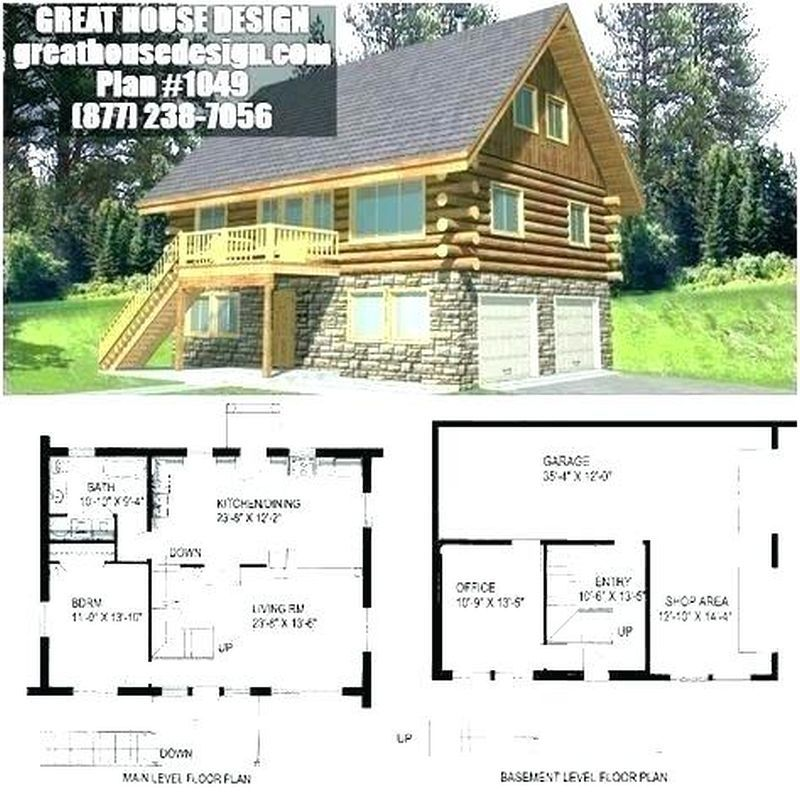 Small Cabin Plans Nz With Kitchen Cabinet Size And Small Cabin Plans Under 1200 Sq Ft And Interior Cabin Inde Cottage Floor Plans House Plans Cabin Floor Plans