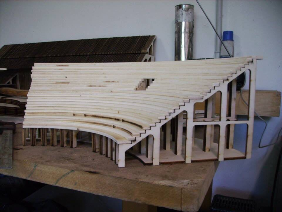 This shows the level of detail and craftsmanship of this project. Extremely high degree of difficulty.