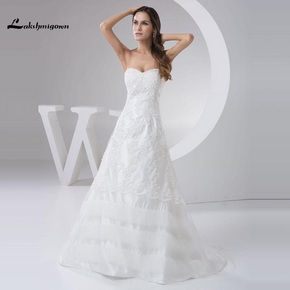 Plus size tulle wedding dress  Click to Buy ucuc Gorgeous Sweetheart Sleeveless Aline China Wedding