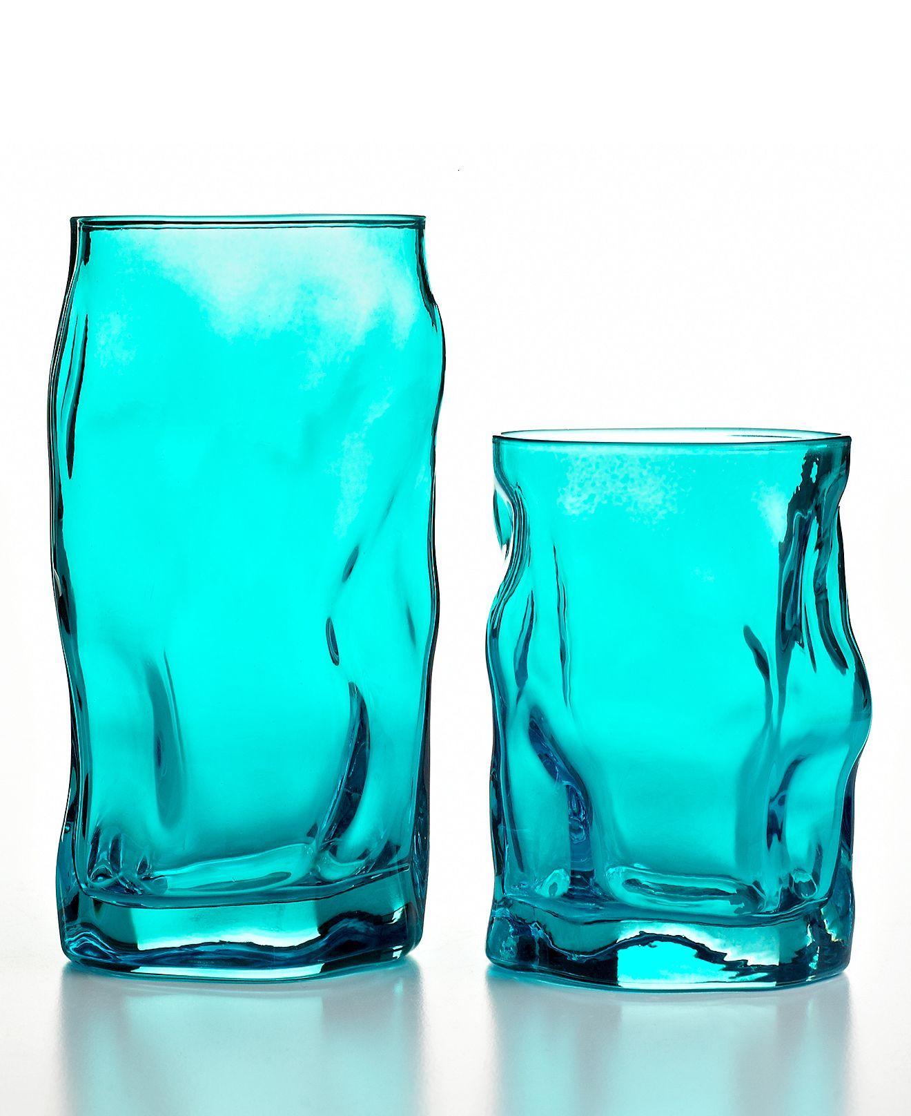 CLOSEOUT! Bormioli Rocco Glassware, Sorgente Sets of 6 Collection ...