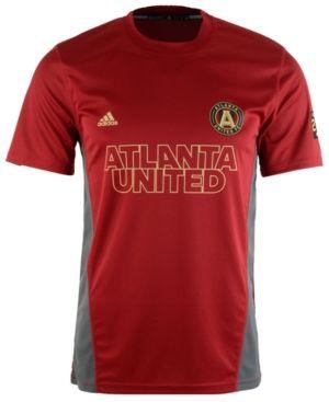 Adidas Men S Atlanta United Fc Performance T Shirt Red Xxl