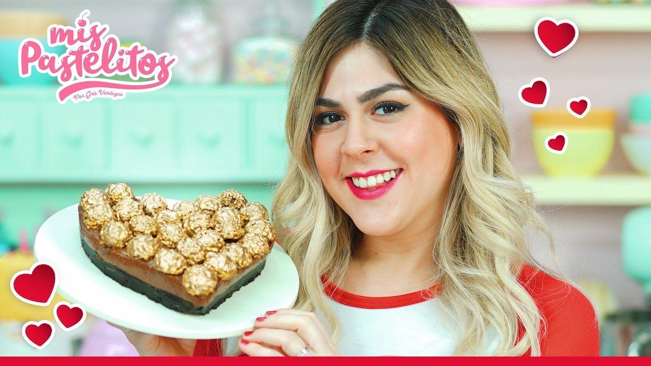 Pastel De Ferrero Nutella Y Oreo Sin Horno Mis Pastelitos Cocinatelo Pay De Piña Receta Pastel De Nutella Pasteles Sin Horno