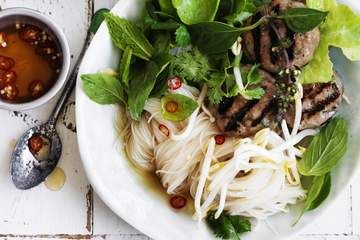 Asian noodle dishes can make a perfect dinner when the weather's warm. Try this light and refreshing option for a summer dinner that will fill you up without weighing you down.