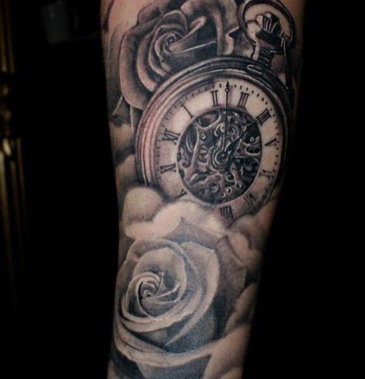 Tattoo Ideas | Watch tattoo design, Watch tattoos, Clock tattoo