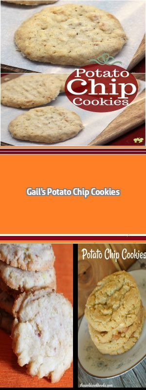 Potato Chip Lace Cookies In which I bake up the perfect comfort food cookie ... vintage, but yet modern, potato chip cookies! #potatochipcookies Potato Chip Lace Cookies In which I bake up the perfect comfort food cookie ... vintage, but yet modern, potato chip cookies! #potatochipcookies