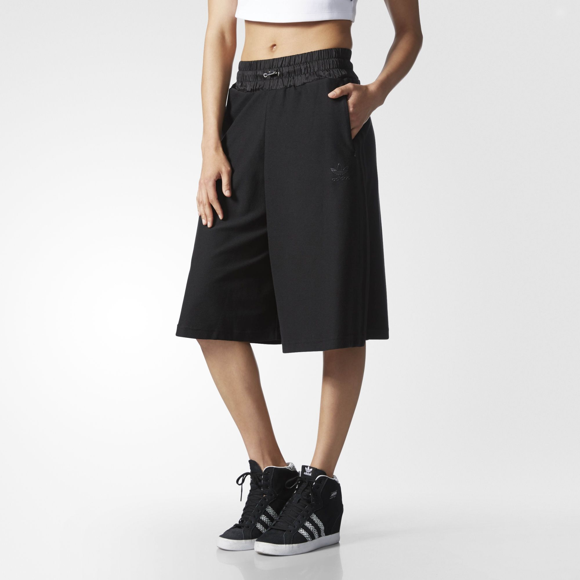 eeb64b69753eb9 adidas - Culotte Pants | desired. | Culotte pants, Leggings are not ...