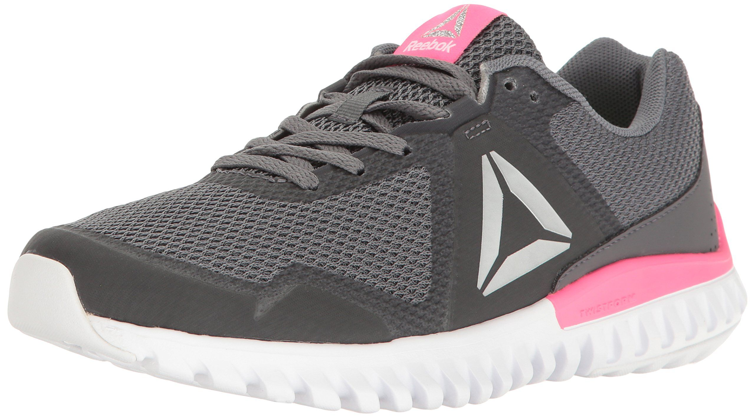 924c5f5a90f4 Reebok Womens Twistform Blaze 3.0 MTM Running Shoe Alloy Ash Grey Poison  Pink White Silver Met 6.5 M US -- Read more at the image link.