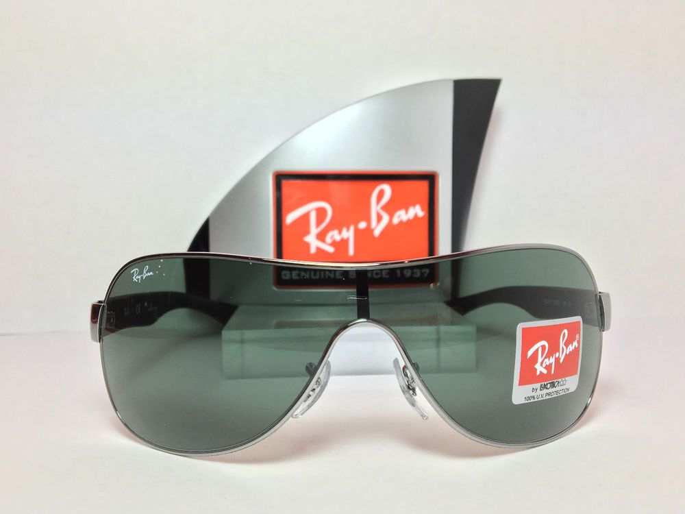 RAY-BAN RB3471 - 100% Authentic - Made in China by Luxottica Tristar -    NEW    RayBan  Shield c37bea1f37