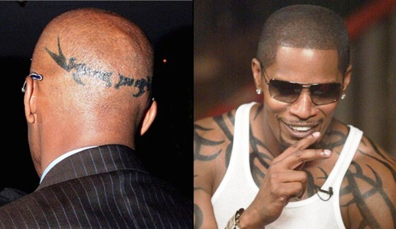 Cool Jamie Foxx Tattoo Pictures Picture Tattoos Tattoos Jamie Foxx Tattoo