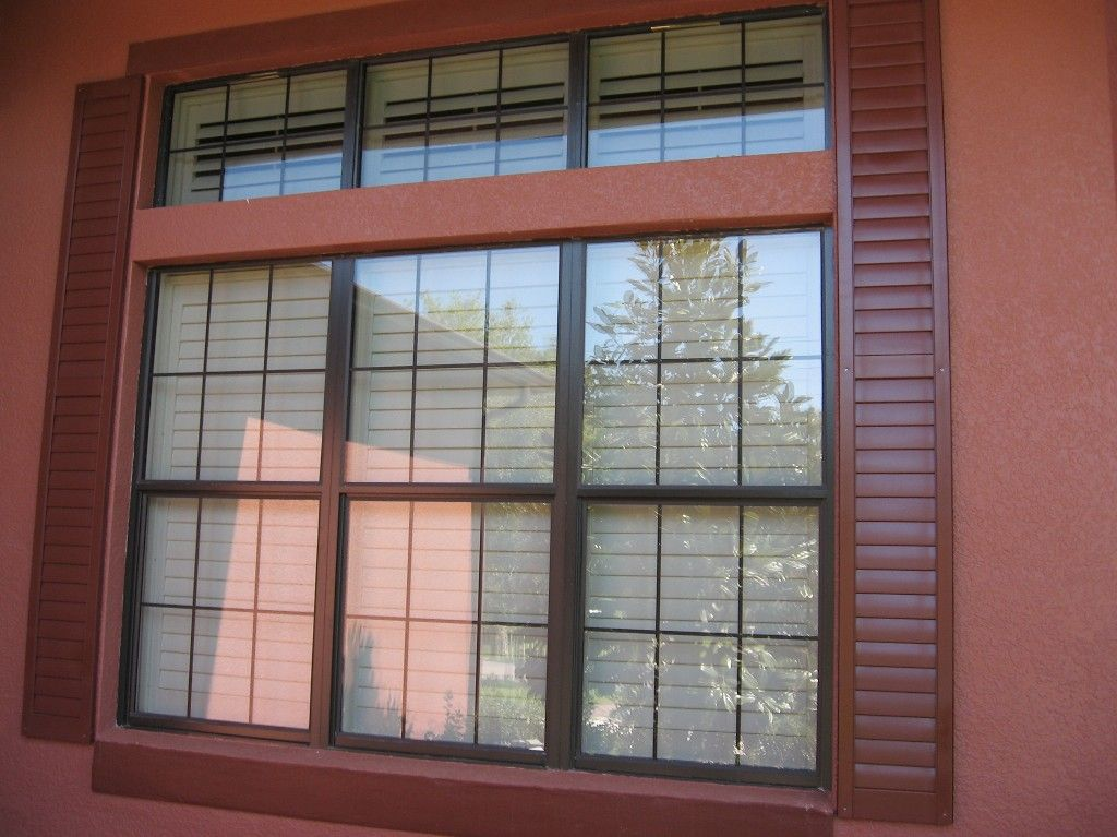 OUTDOOR SHUTTERS | wood shutters sliding shutters with extended track arch shutters ...