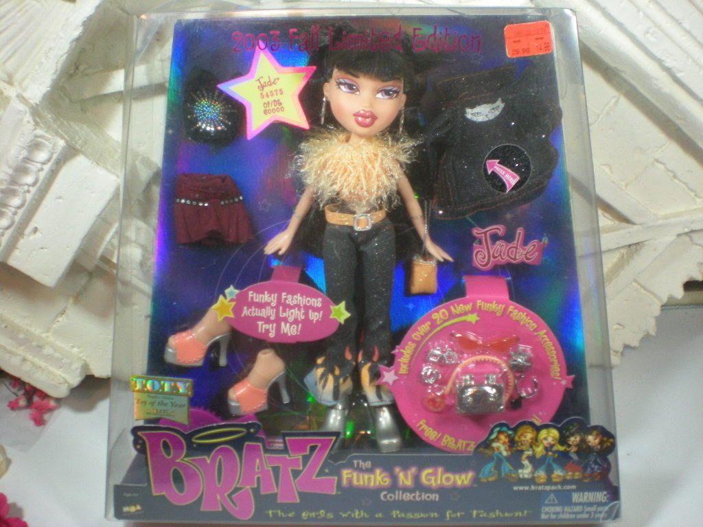 Bratz Funk 'N' Glow (Fall 2003 - Refresh) Jade | Monster ...