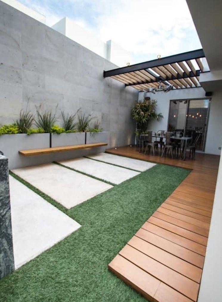 Patios cuartos dise o de terraza decoraci n de unas y for Patios y terrazas disenos