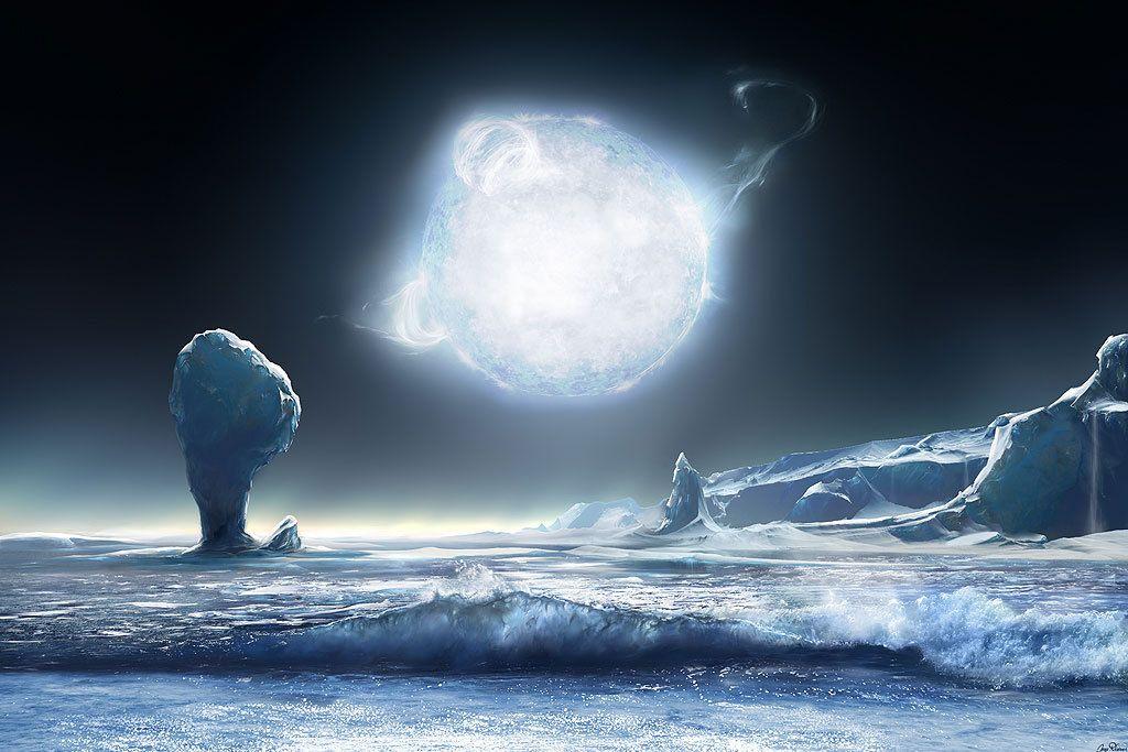 planetary landscape | Hunt for Alien Earths: Extrasolar Planet Art ...