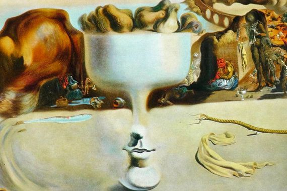 Illusions Through The Paintings Of Salvador Dali |Salvador Dali Dog Paintings