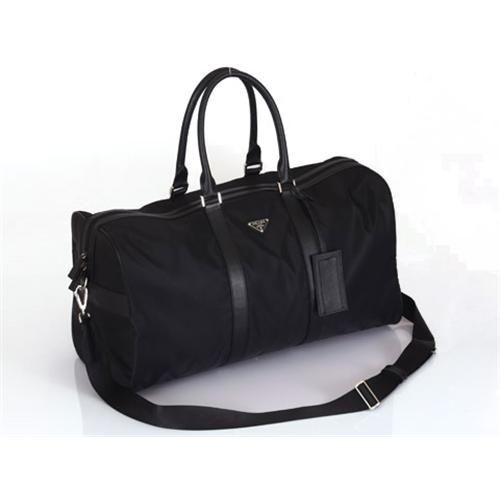 Prada Men Black Softsided Luggage Travel Bag 275 00