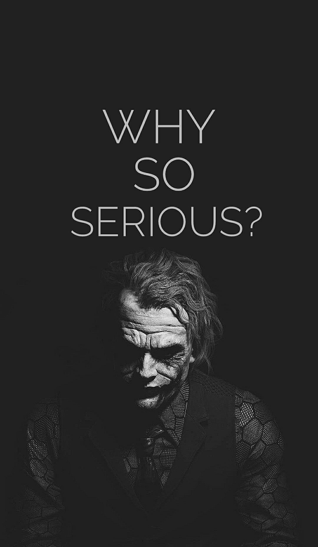 Why So Serious Joker Images Batman Joker Wallpaper Joker Wallpapers Joker why so serious iphone wallpaper hd