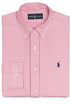 Polo Ralph Lauren Classic-Fit Poplin Dress Shirt | Mens shirt ...