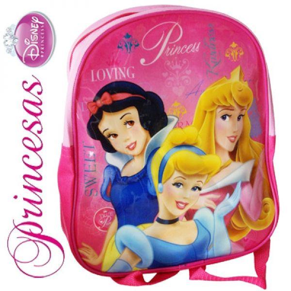 Las Princesas Disney Mochila Infantil + Regalo Set Escolar Muñecas New Princess - Bekiro
