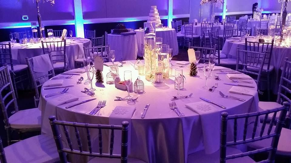 Our White Satin Linens are an ideal choice for showcasing