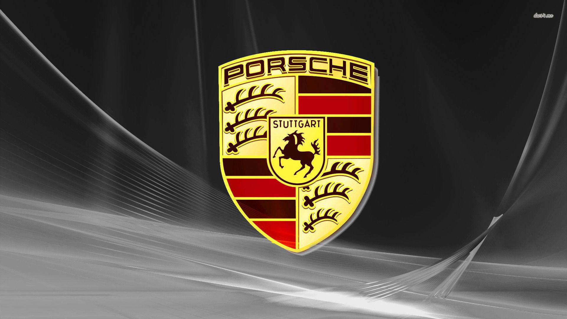 porsche logo wallpaper 1920x1080 90