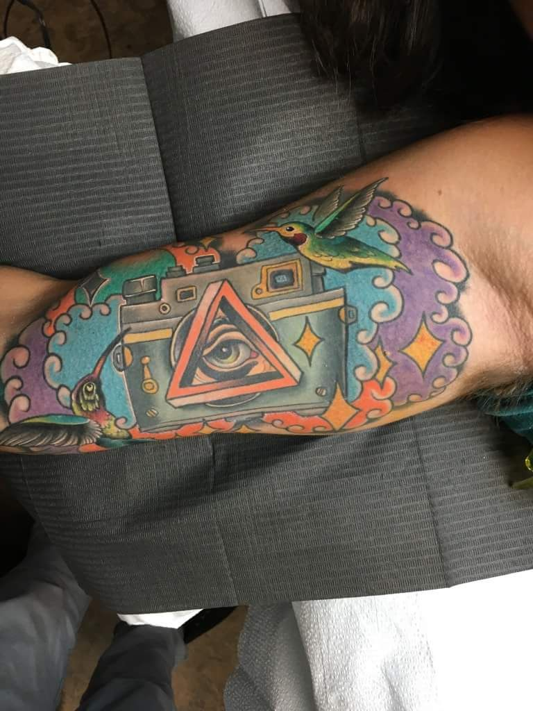 My Favorite Tattoo By My High School Friend Zach Bowden At A Tattoo