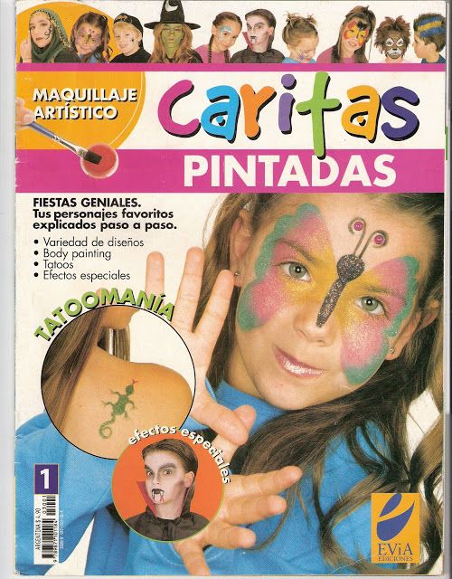 Pin On Maquillaje Infantil