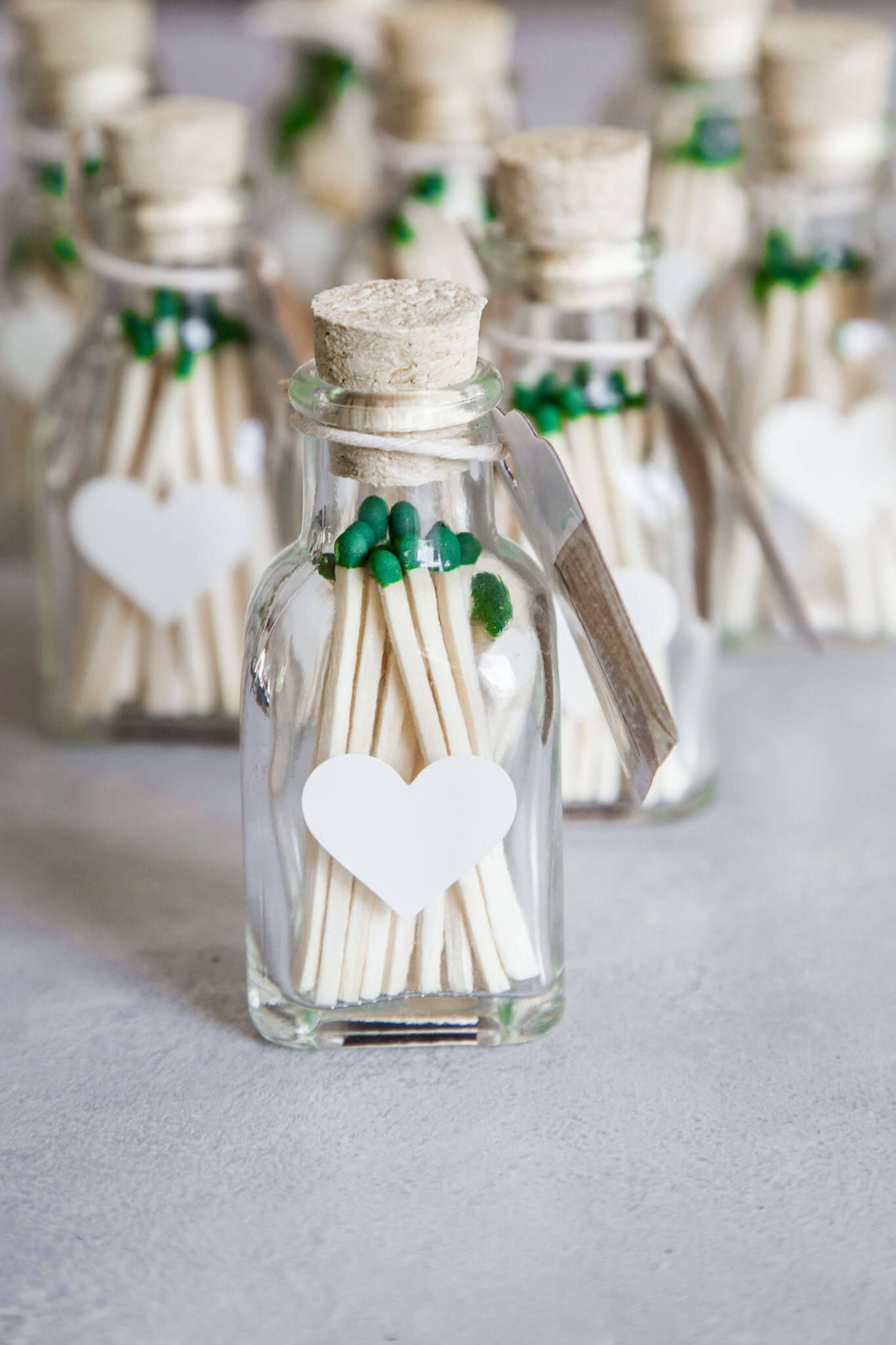 Learn to make your own DIY wedding favors. These match