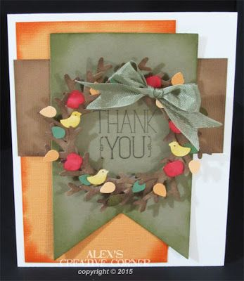 Alex's Creative Corner: Tree Builder Fall Wreath