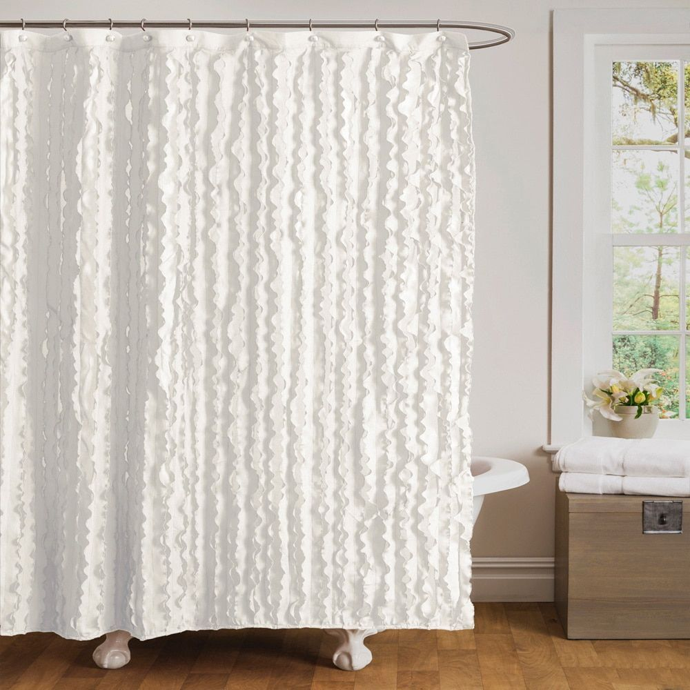 Shower Curtains For Less Lush Decor Modern Chic Shower Curtain Bathroom Pinterest