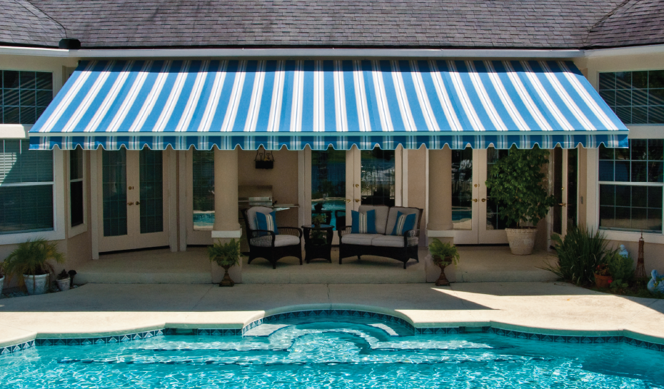 Stylish Patio Awnings And Shade Structures Ideas For Backyard Patio