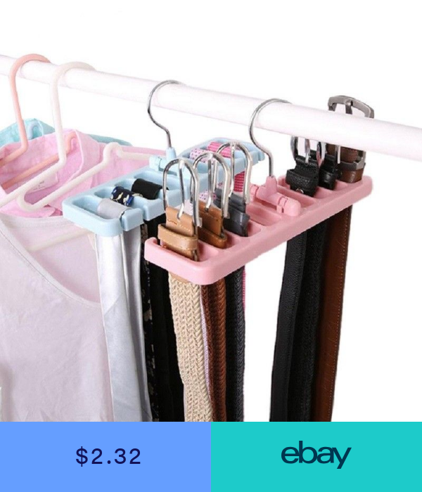 Electronic Tie Rack For Wire Shelving