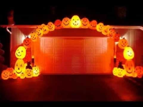 Outside halloween decorating ideas 2015 holidays inflatable - halloween decoration outside
