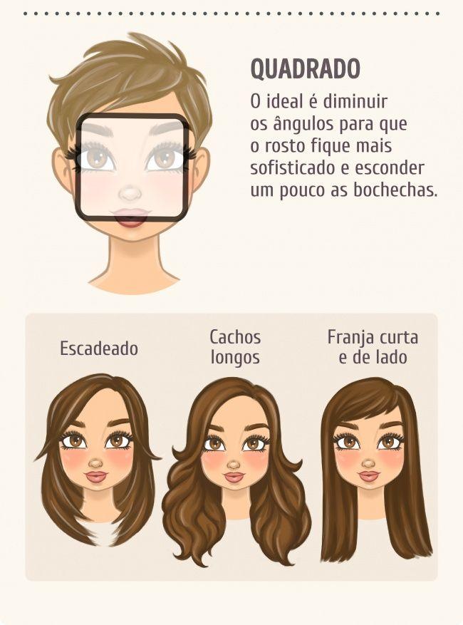c52399eca8835 Escolha o penteado de acordo com o formato do seu rosto