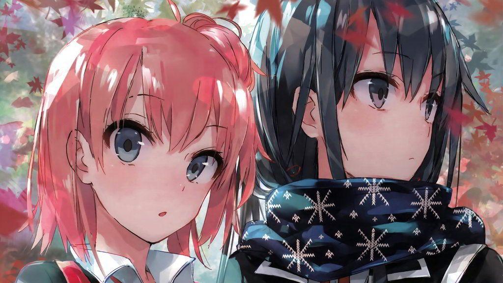 Yukino and Yui - Oregairu by InfinityDragon23 on DeviantArt