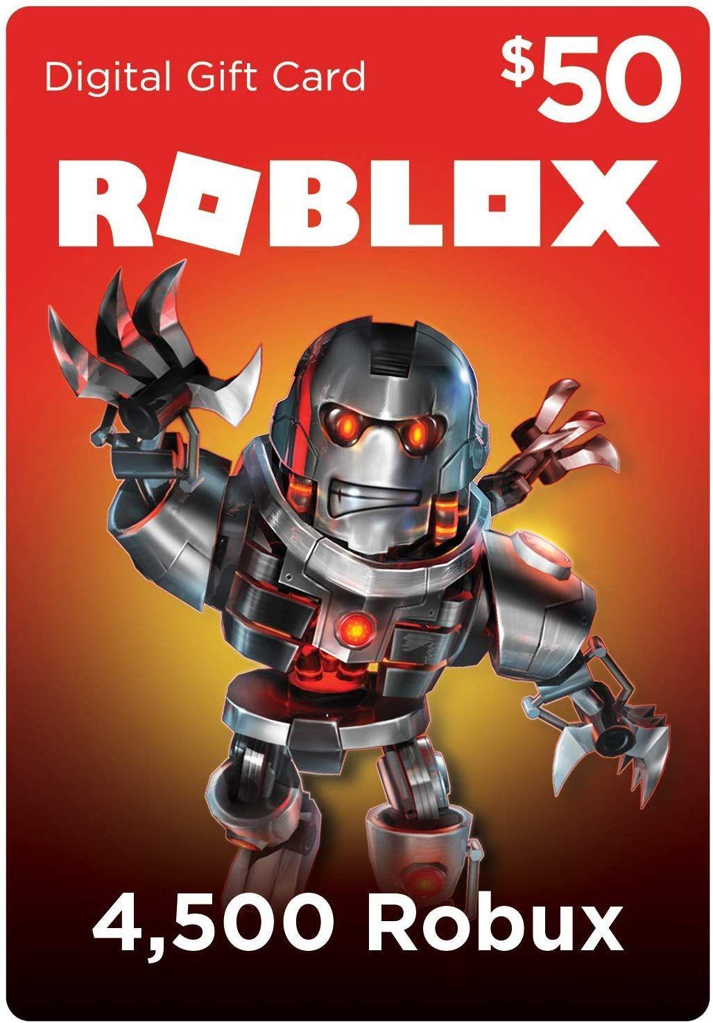 Roblox Gift Card 4500 Robux [Digital Code]