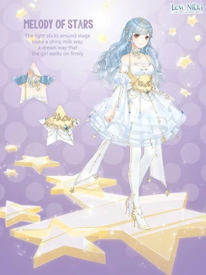 Melody of Stars Love NikkiDress UP Queen! Wiki FANDOM