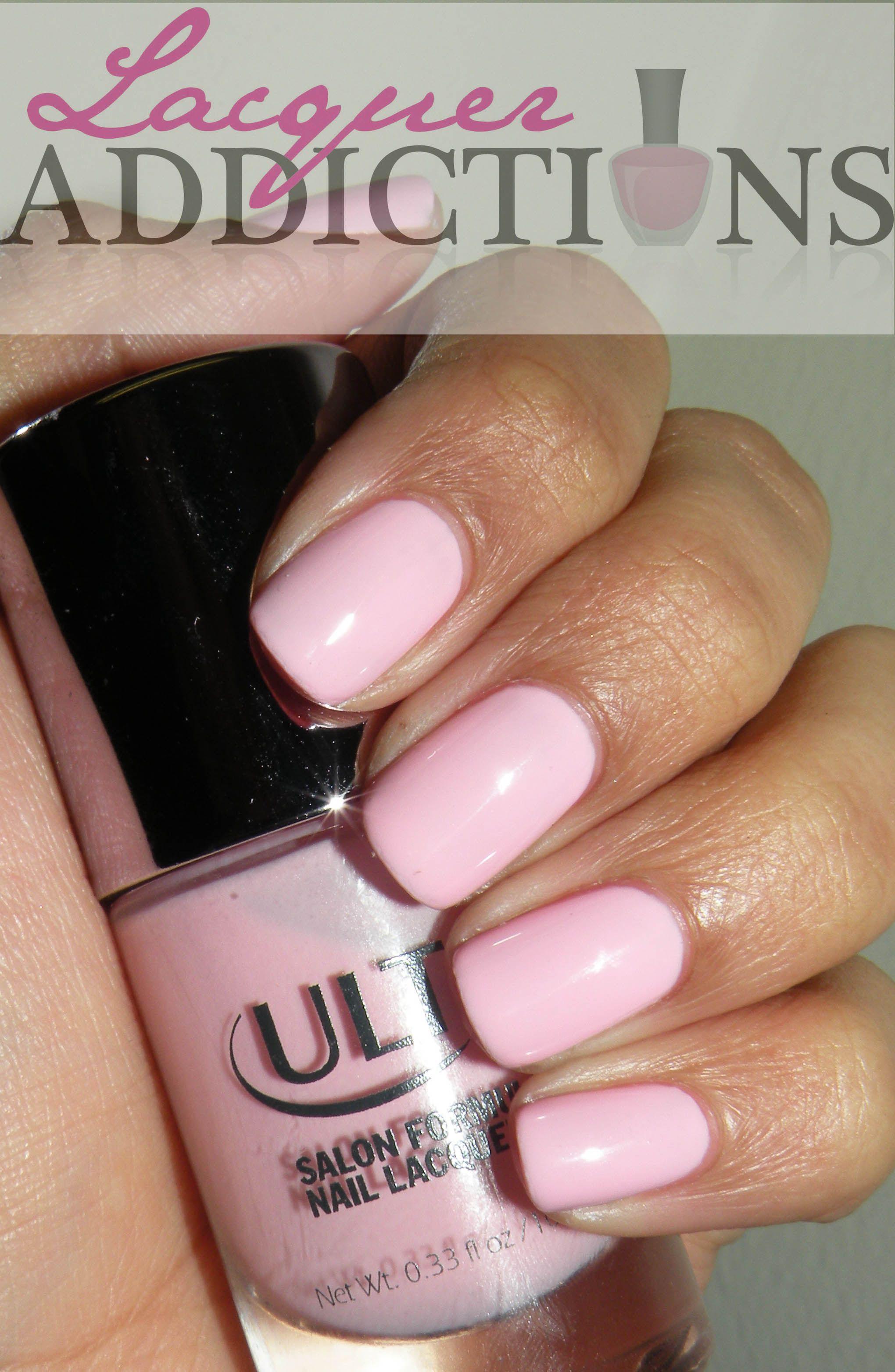 Encore Pink | Nail blog, Nail polish collection and Mani pedi