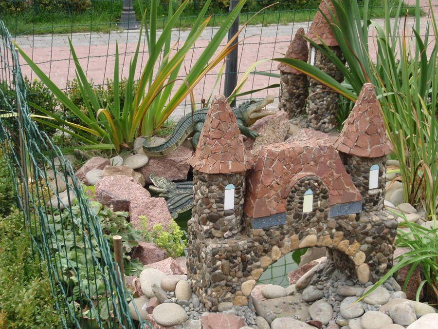 Декоративные постройки для сада своими руками фото