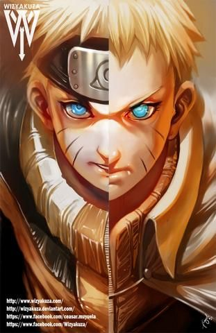 Naruto Split Naruto Anime Characters Naruto Uzumaki