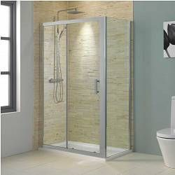 V8 Framed Sliding Shower Enclosure 1000 X 800 Shower Enclosure Loft Bathroom Sliding Doors