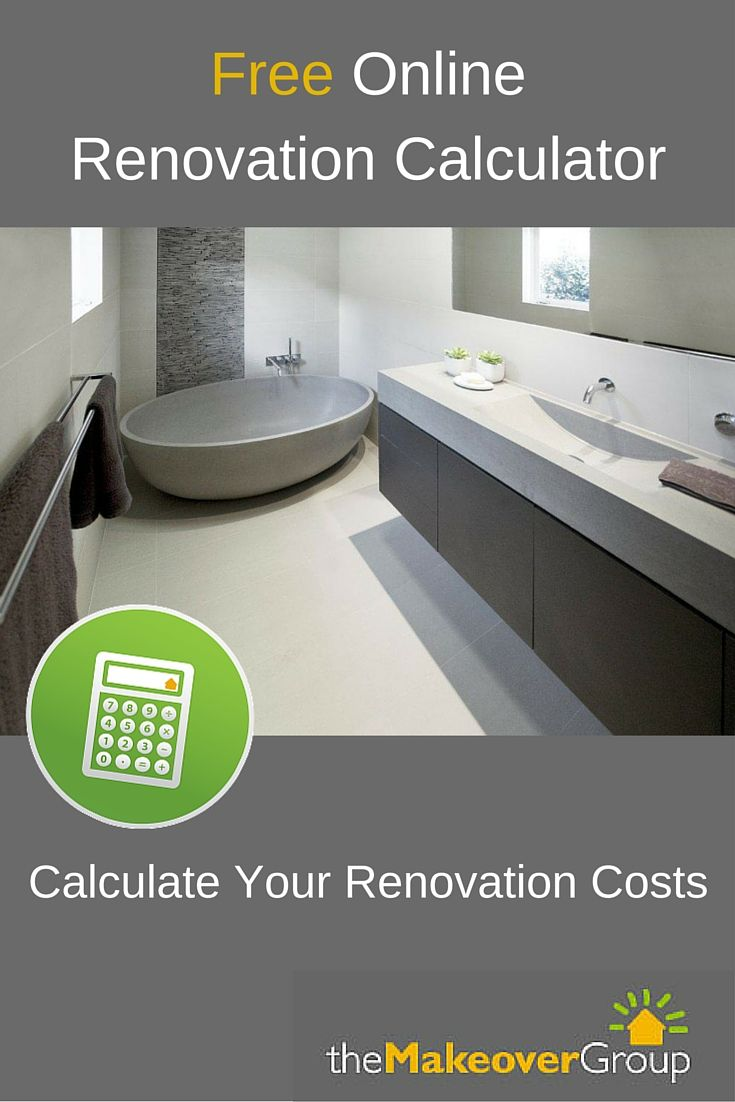 Calculate your home renovation costs with our free online - Basement bathroom cost calculator ...