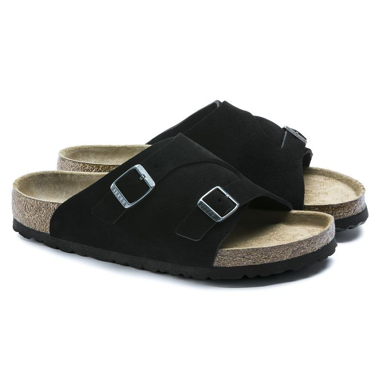 Zürich Suede Leather Soft Footbed Birkenstock modelle