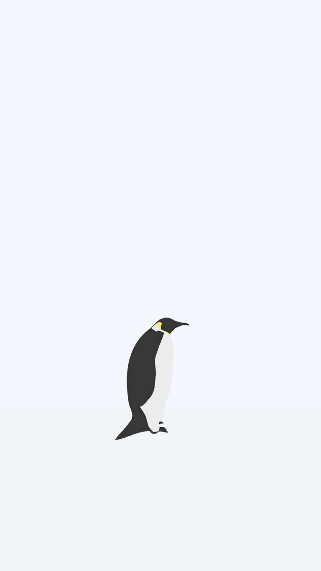 Penguin Check Out More Minimal Animals Wallpapers For