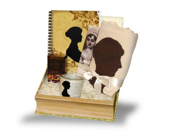 Jane Austen Gift Basket | Jane austen gifts, Jane austen ...