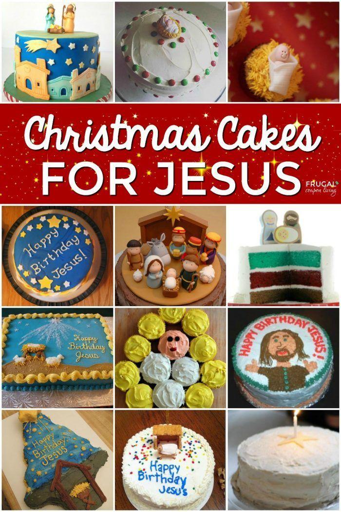 Jesus Birthday Cakes for Christmas Jesus birthday, Happy