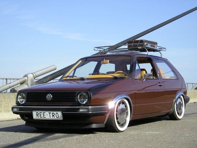 Vw Golf Mk2 German Style
